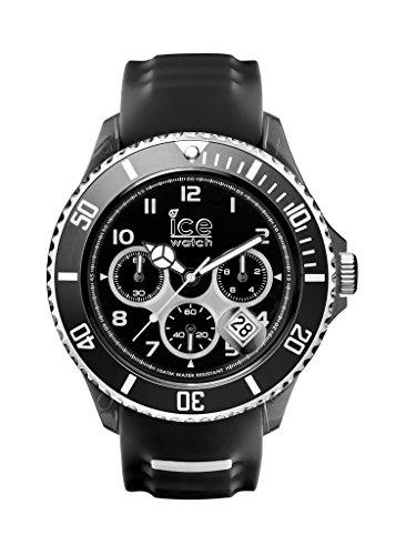 Ice-Watch Herren - Armbanduhr Ice Sporty Analog Quarz Silikon SR.CH.BKW.BB.S.15