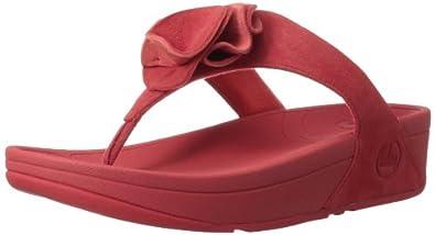 FitFlop Women's Yoko Flip Flop,Hibiscus,8 M US