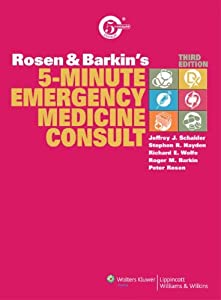 Rosen & Barkin's 5-Minute Emergency Medicine Consult 4th edition PDF