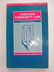 European Community Law (Palgrave Professional Masters)