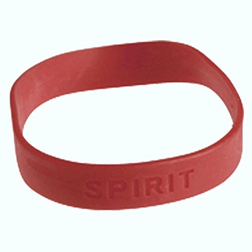 Lot Of 12 Stretchy Dark Red Maroon School Spirit Bracelets