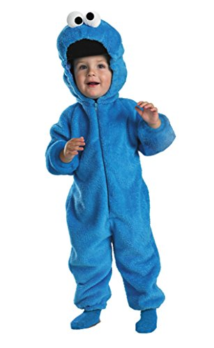 Boys Cookie Monster Deluxe Kids Child Fancy Dress Party Halloween Costume