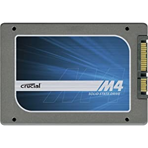 Crucial 128 GB m4 2.5-Inch Solid State Drive SATA 6Gb/s