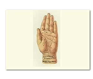 "Amazon.com : HAND MADE CARDS - K Designs Artist Designed ""Palmistry"
