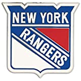 NHL New York Rangers 43521091 Collector Pin Jewelry Card