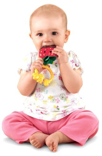 Fisher-Price Sweet Treats Teether, Strawberry (Discontinued by Manufacturer) by Fisher-Price (Fisher Price Strawberry compare prices)