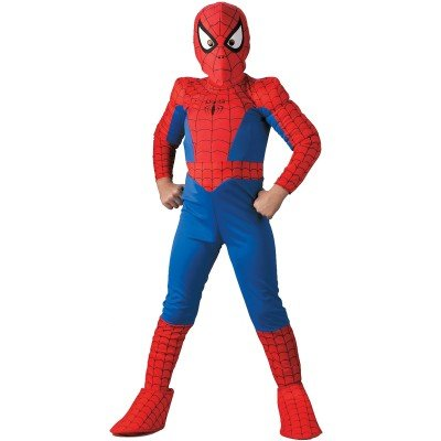 Deluxe Kids Spiderman Costume - Official Spiderman Costumes