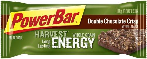 PowerBar Harvest Whole Grain Energy Bar, Double Chocolate Crisp, 2.29-Ounce Bars (Pack of 15)