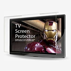 TV Shield Anti-Glare 30-32 -Inch Best Flat Screen TV Protector -LCD, LED, PLASMA TV's