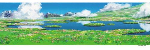 950ピース スタジオジブリ背景美術シリーズ ハウルのひみつの庭 950-204