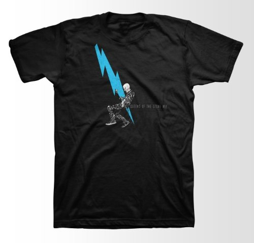 Queens of the Stone Age Lighning Dude Slim Fit T-Shirt
