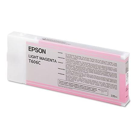 Epson T606C Cartouche d'encre d'origine 1 x magenta clair