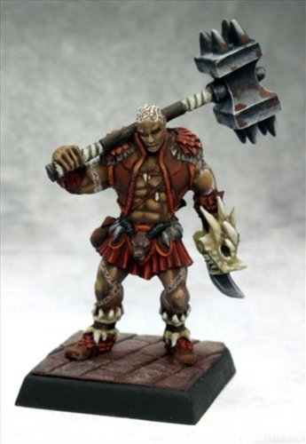 Pathfinder Miniatures: Shoanti Barbarian by Reaper