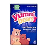Yummy Bear, Echinacea, 40 Count (3 Pack)