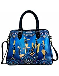 Digitally Printed Multi Stylish Cabin Carry Bags With Multi Pocket - B01ICTCZ4O