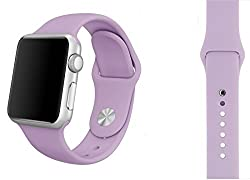 ProElite 42 mm Silicon Wrist Band Strap for Apple Watch - Purple [*Watch NOT included*]