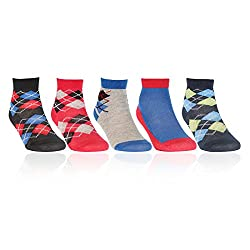 Bonjour infant designer socks Pack of 5 pairs_BRO911-00-PO5