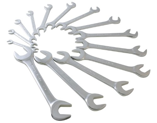 Sunex 9914 SAE Angled Wrench Set, 14-Piece (Sae Angle Wrench compare prices)
