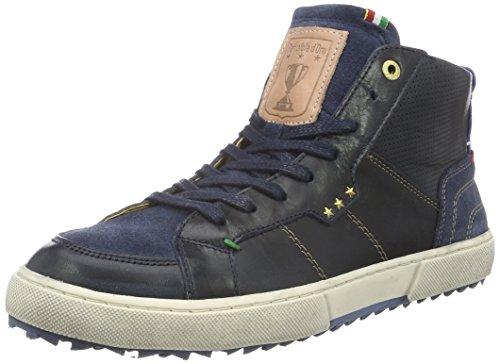 Pantofola D'OroTeco Pelliccia Uomo Mid - Scarpe da Ginnastica Basse Uomo , Blu (Blau (.29Y)), 43