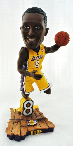 Kobe Bryant Official NBA #8 dunking hm uniform action Bobble Head LA Lakers