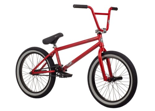 Kink 2014 Liberty BMX Bike, Matte Red, Toptube: 20.75-Inch