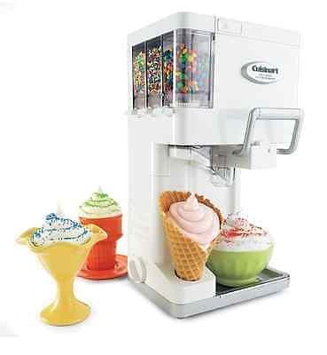 Cuisinart Ice Cream Maker Frozen Yogurt Sorbet Soft Serve Automatic Freezer (Soft Serve Home Machine compare prices)