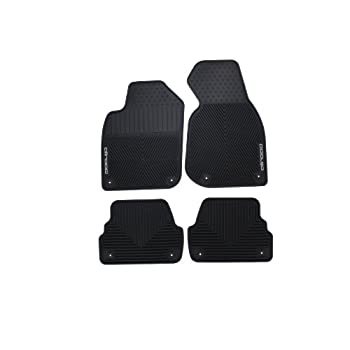 Black Coverking Custom Fit Front Floor Mats for Select GMC Yukon XL Models Nylon Carpet