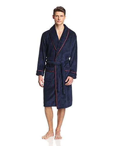 Alexander Julian Men's Solid Plush Robe