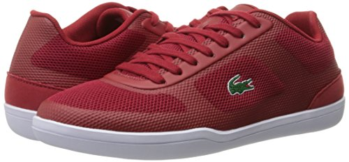Lacoste Men's Court-Minimal Sport 416 1 Spm Fashion Sneaker, Red, 8.5 M US