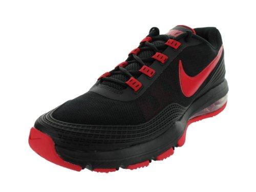 buy popular e8488 e74cf Nike Men s Air Max TR 365 Black University Red Black Training Shoes 9 Men US