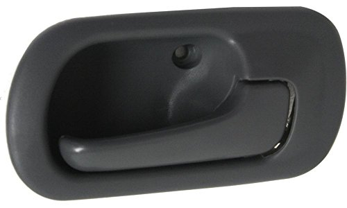 Evan-Fischer EVA18772041813 New Direct Fit Interior Door Handle for CIVIC 96-00 FRONT OR REAR RH Inside Gray (Charcoal) Sedan DX/EX/GX/LX models Replaces Partslink# HO1353114 (2000 Honda Civic Ex Door Handle compare prices)