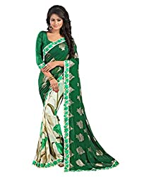 My online Shoppy Georgette Saree (My online Shoppy_32_Multi-Coloured)