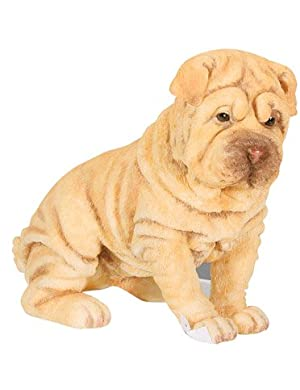Sharpei Puppy / Dog - Collectible Figurine