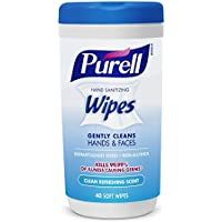6 Pack Purell 9120-06-CMR Hand Sanitizing Wipes (40 Count)