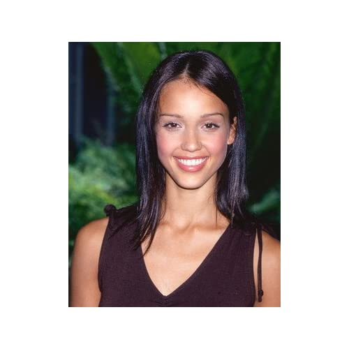 Amazon.com - Jessica Alba 12x16 Color Photograph (Dark Hair) - Prints