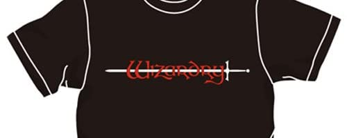 Wizardry ウィザードリィロゴTシャツ ブラック サイズ:XL