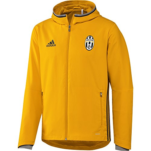 Adidas Juve Pre Jkt Giacca, Uomo, Oro/Grigio (Doruni/Griosc/Grpuch), M