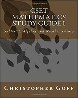 Cset Mathematics Study Guide | Download eBook PDF/EPUB
