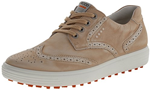 ECCO Women's Casual Hybrid Golf Shoe, Sesame, 40 EU/9-9.5 M US