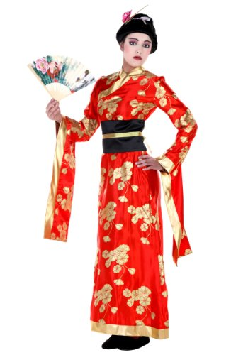[Adult Geisha (Large)] (Halloween Costumes For Asian Women)