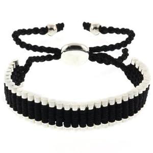 One Direction Bracelet de l'amitié - Cordon Noir - Ajustable