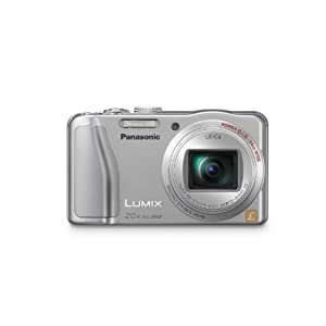 Panasonic Lumix ZS20 14.1 MP High Sensitivity MOS Digital Camera with 20x  Optical Zoom (Silver)