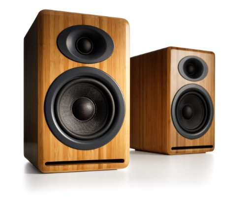 These Are Small But Powerful Bookshelf Speakers With Excellent Bass Response For Their Size