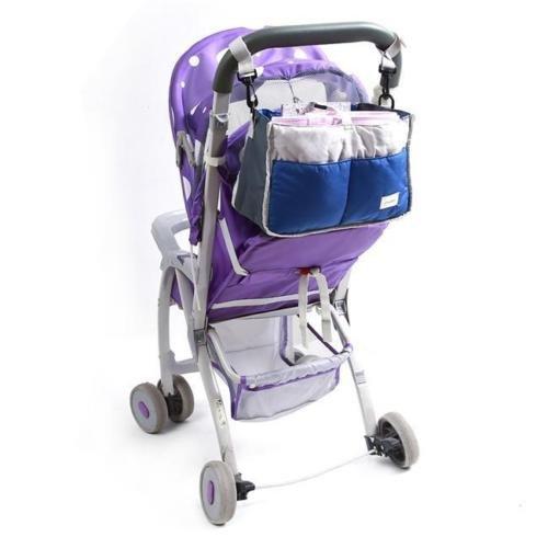 [Baby Stroller Pram Buggy Pushchair Travel Organizer Hang Diaper Storage Bag] (Elephant Bunting Costumes)