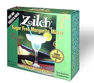 Zilch Sugar Free Margarita Mixer (Box of 10 Individual-serving Size Packets)