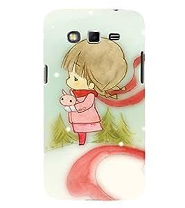 EPICCASE charming girl Mobile Back Case Cover For Samsung Galaxy Grand (Designer Case)