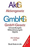 Image de Aktiengesetz · GmbH-Gesetz: mit Umwandlungsgesetz, Wertpapiererwerbs- und Übernahmegeset