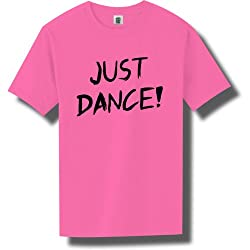 Just Dance Short Sleeve Bright Neon T-Shirt - 6 bright colors