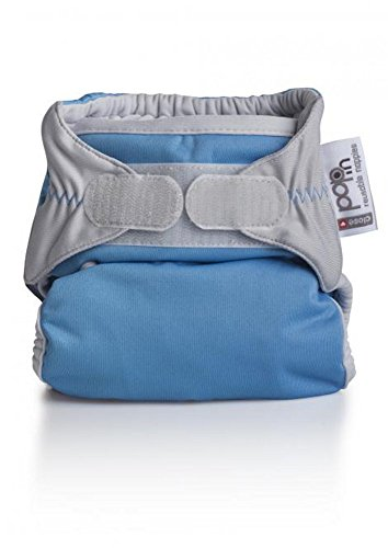 Close Pop-In + Bamboo Single Nappy (30 Months, Blue)