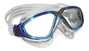 Aqua Sphere Vista Swim Mask, Trans/Aqua/Blue/Gray, Clear